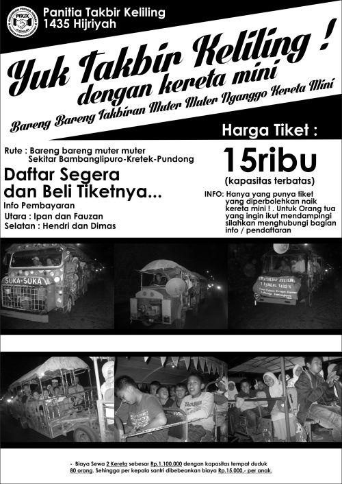 Poster Takbir 2014